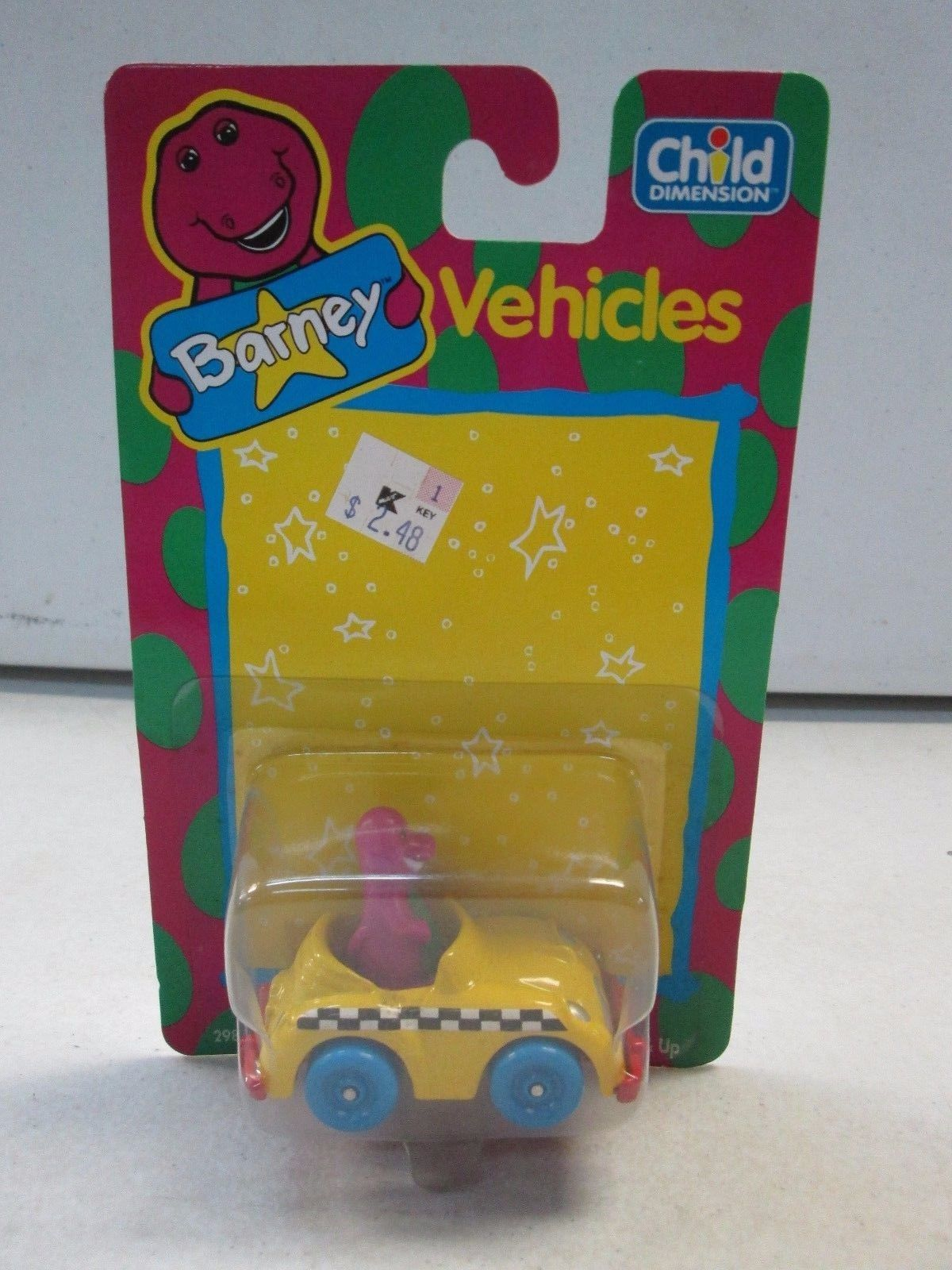 Toy Barney Vehicles