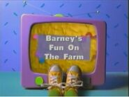 Barney's Fun On The Farm