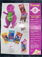 A Barney & The Backyard Gang catalog from 1990