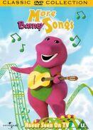 More Barney Songs 2000 UK DVD