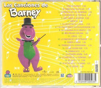 Las Canciones De Barney Barney Wiki Fandom