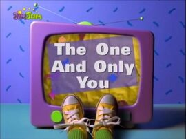 The One And Only You.JPG