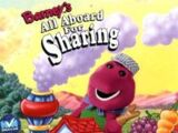 Barney's All Aboard For Sharing
