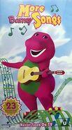 More Barney Songs 2001 UK VHS