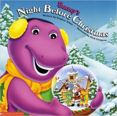 Barney's Night Before Christmas (Book)