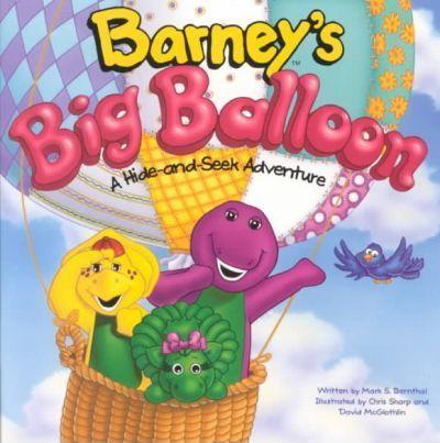 Barney's Big Balloon: A Hide-And-Seek Adventure