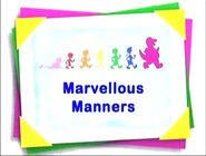 Marvellous Manners