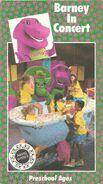Barney In Concert Original Cover