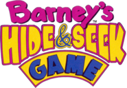Barneys hide seek game logo