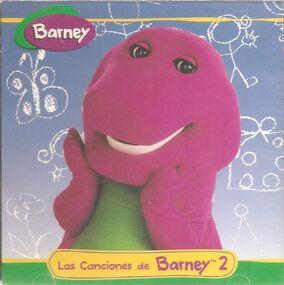 2. La Canciones de Barney 2 (1997).jpg