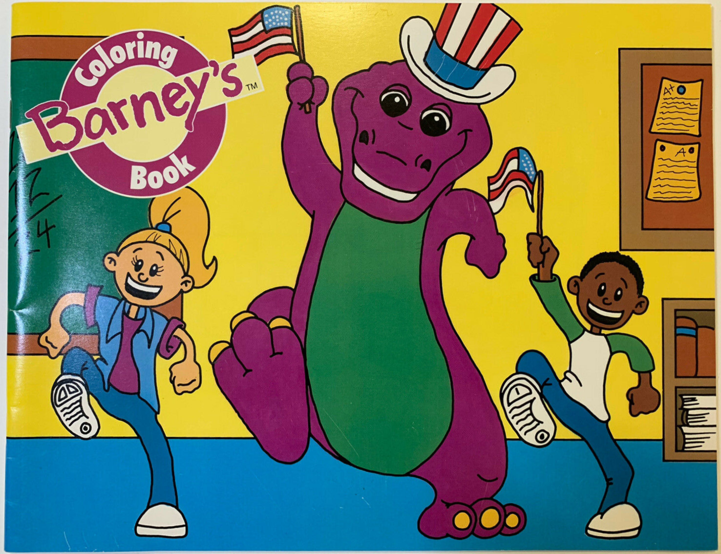 Barney Coloring Books