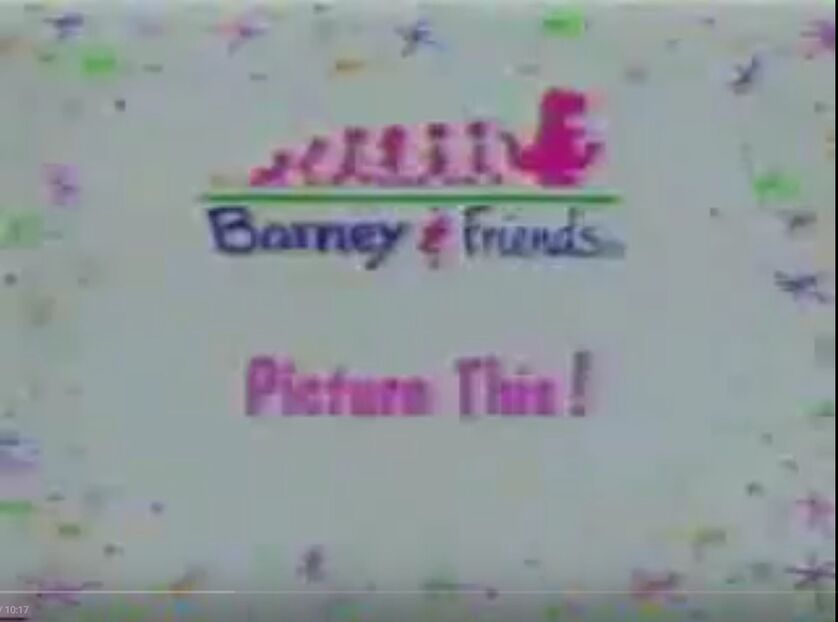 Picture This! Title Card - Barney Theme Song (Picture This!'s version) (Clip from Round and Round We Go and Audio from Picture This!).jpg