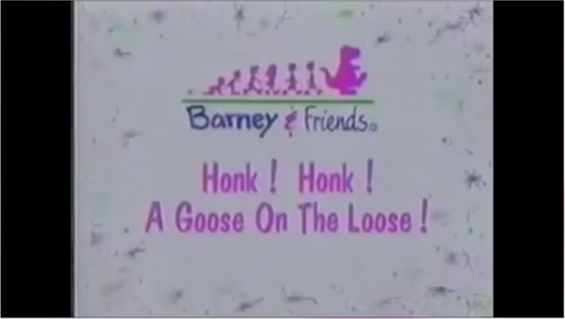 Honk! Honk! A Goose On The Loose! Title Card - Caring Means Sharing!.jpg