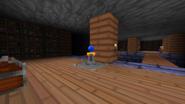 Blue Orb Pedestal