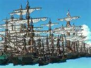 Navires du port Hielo