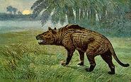 300px-Hyaenodon Heinrich Harder