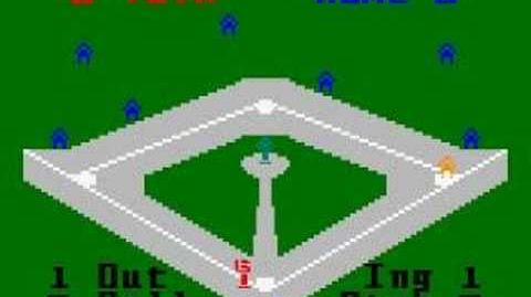 Major League Baseball (Mattel 1980)
