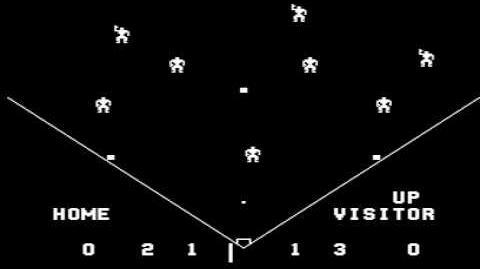 Tornado Baseball Ball Park (1976 Midway Taito)