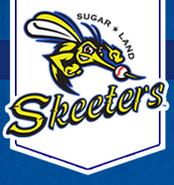 Sugar Land Skeeters logo