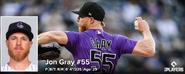 MLB Jon Gray 2021