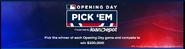 MLB 2021 pick 'em (game)