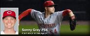 MLB Sonny Gray 2021