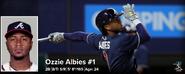 MLB Ozzie Albies 2021