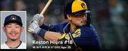 MLB Keston Hiura 2021