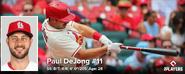 MLB Paul DeJong 2021