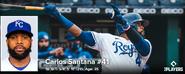 MLB Carlos Santana 2021