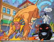 Black Mask Monsters Attack