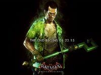 The Riddler Batman Arkham Knight promo ad