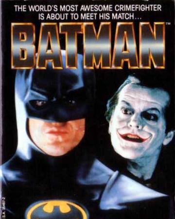Batman 1989 Film Novelization Batman Wiki Fandom