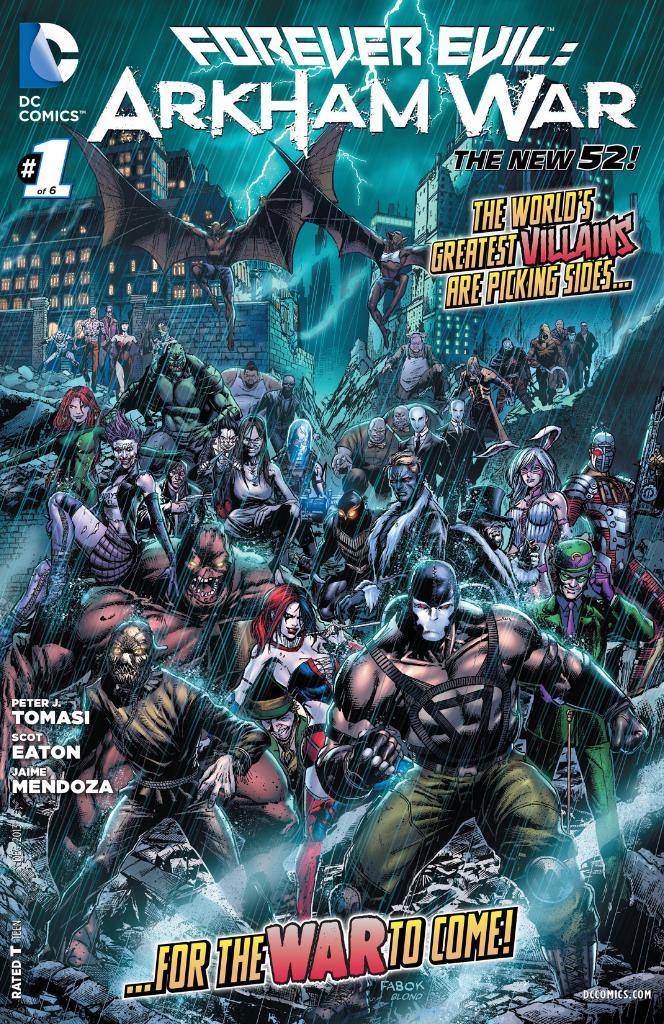 Forever Evil: Arkham War (Volumen 1)