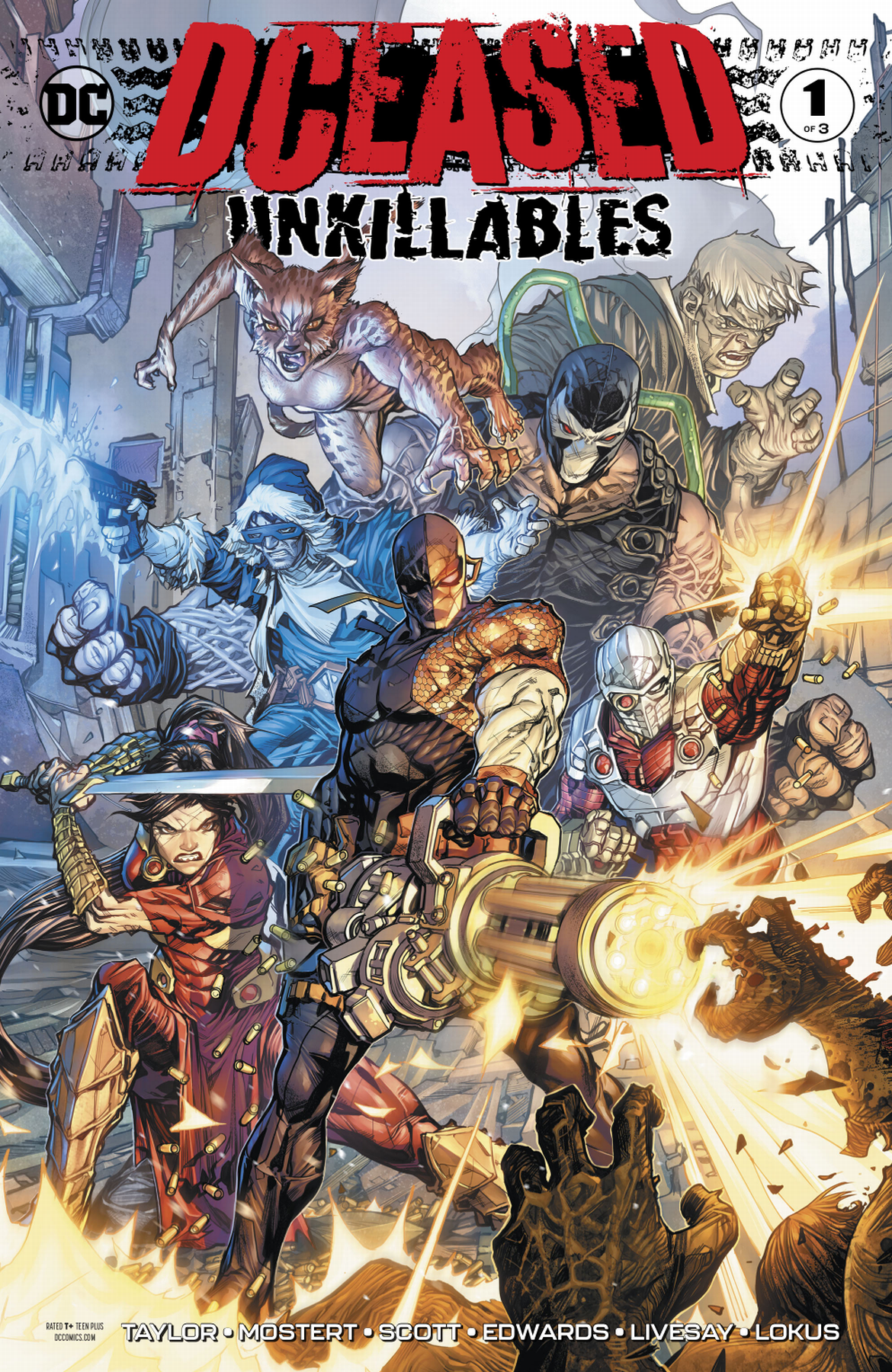 DCeased: Unkillables (Volumen 1)