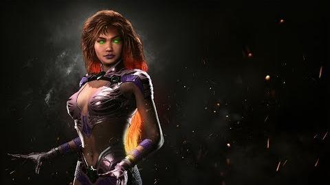 Injustice 2 - ¡Presentando a Starfire!