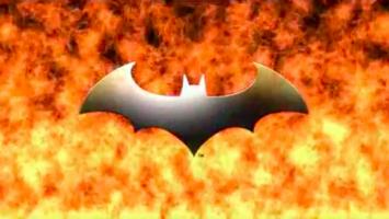 Justice League Heroes Bat Emblem