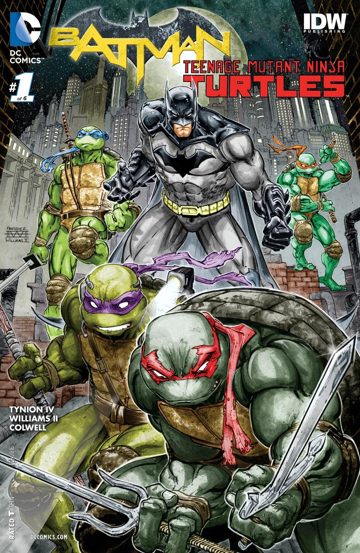 Batman/Teenage Mutant Ninja Turtles (Volumen 1)