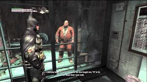 Batman Arkham City Story Teller Achievement (Calendar Man Easter
