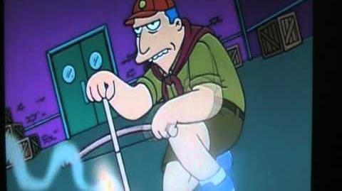 Radioactive man - Scout master