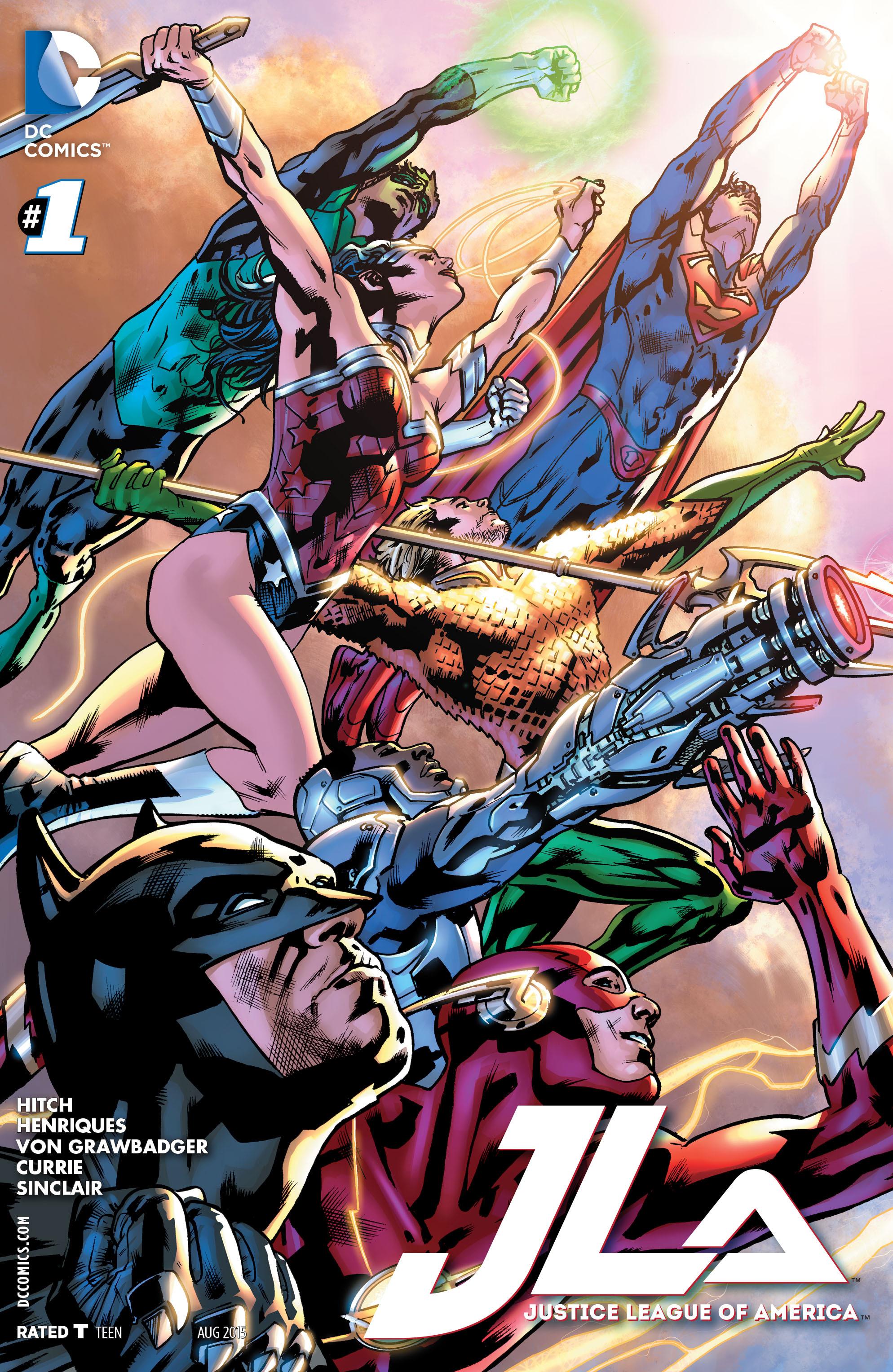 Justice League of America (Volumen 4)