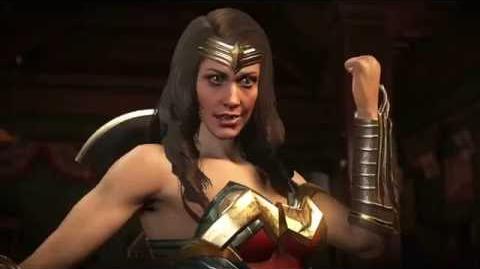 Injustice 2 – Trailer Wonder Woman y Blue Beetle