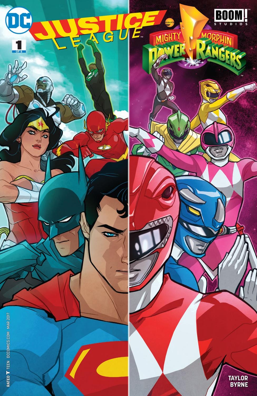 Justice League/Power Rangers (Volumen 1)