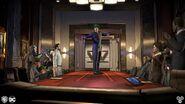 The Joker takes Wayne Enterprises