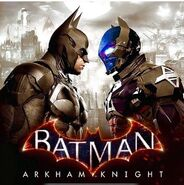 Batman Arkham Knight promotional ad-faceOff