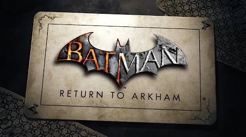 Batman Regreso a Arkham Trailer Oficial