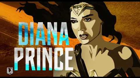 Liga de la Justicia - Mujer Maravilla héroe