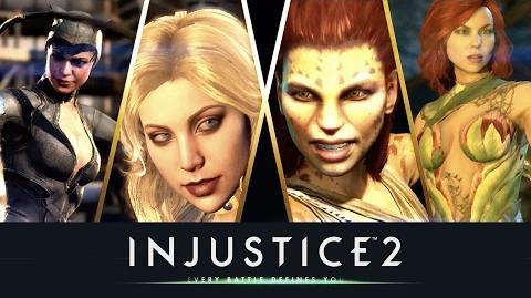 Injustice 2 - Aquí llegan las chicas