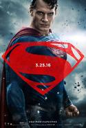 Póster de Superman BVS
