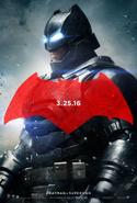 Póster de Batman BVS